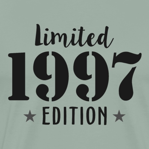 Limited 1997 Edition Birthday T Shirts - Men's Premium T-Shirt