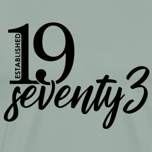 Established 19 seventy3 - Men's Premium T-Shirt