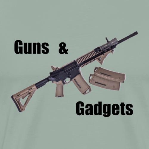 Guns and Gadgets - Men's Premium T-Shirt