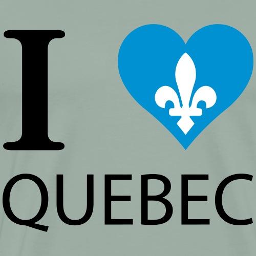 I love Quebec - Men's Premium T-Shirt