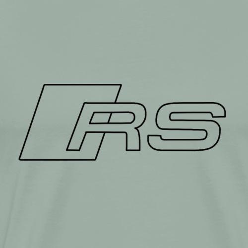 RS logo black - Men's Premium T-Shirt