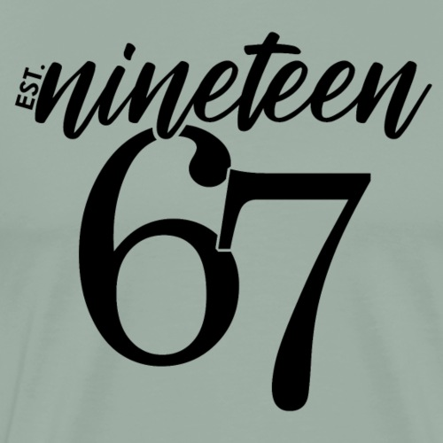 Est 1967 - Men's Premium T-Shirt