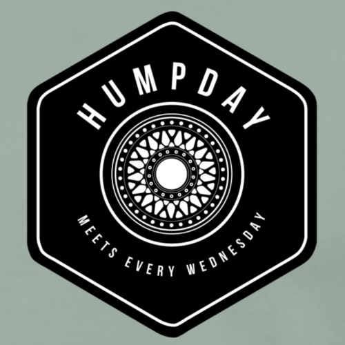 Humpday small rim - Men's Premium T-Shirt