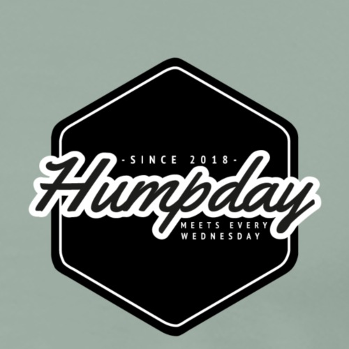 Humpday logo - Men's Premium T-Shirt