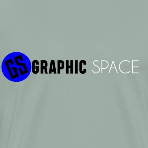 GRAPHIC SPACE Logo 2 - Men's Premium T-Shirt