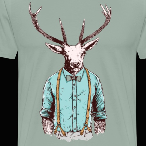Oh Deer - Men's Premium T-Shirt