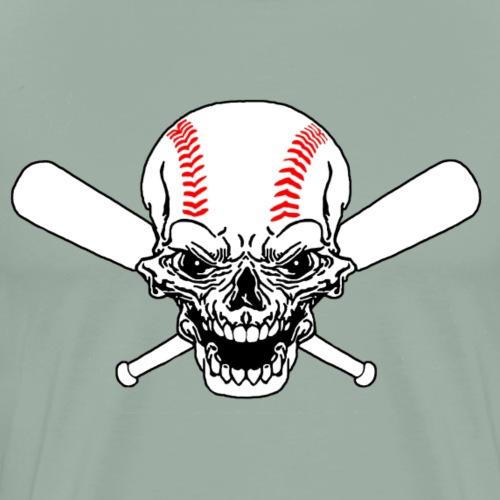 baseball skull - Men's Premium T-Shirt