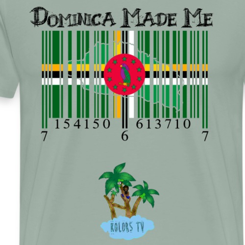 Dominica Made Me - Men's Premium T-Shirt