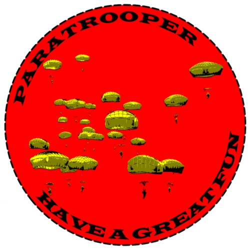 Praratrooper Fun - Men's Premium T-Shirt