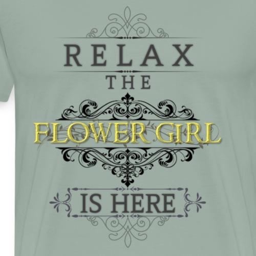 Flower Girl - Men's Premium T-Shirt