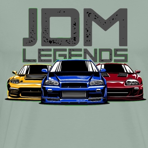 Jdm Legends - Men's Premium T-Shirt