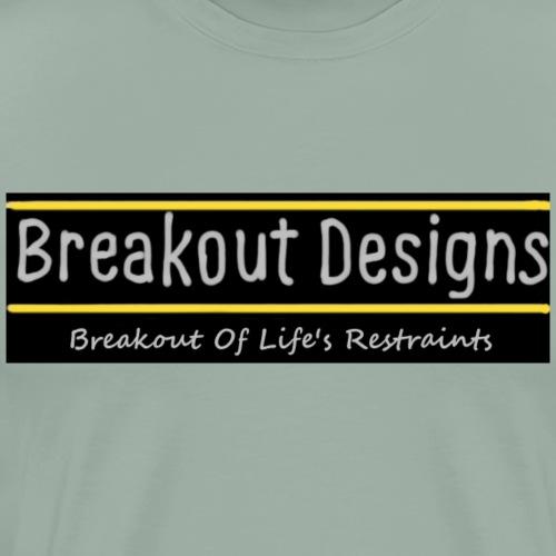 Breakout Designs Logo - Men's Premium T-Shirt