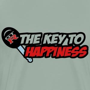 gtr key happiness - Men's Premium T-Shirt