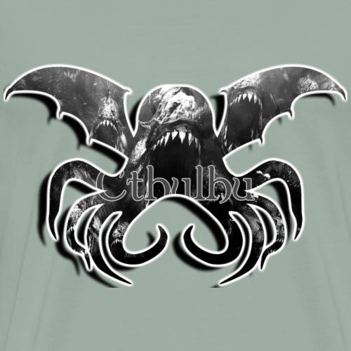 Cthulhu rising - Men's Premium T-Shirt