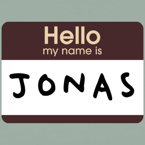 Hey, nice to meet you. The name's Jonas. - Men's Premium T-Shirt
