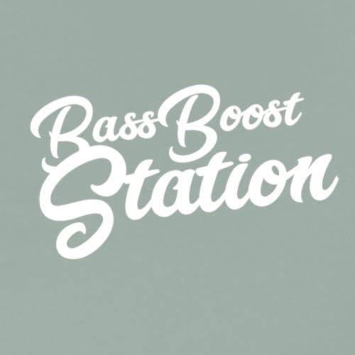 Bass Boost Station Logo Style - Men's Premium T-Shirt