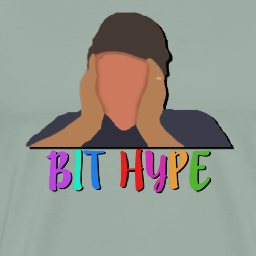 Radiant Bit Hype - Men's Premium T-Shirt