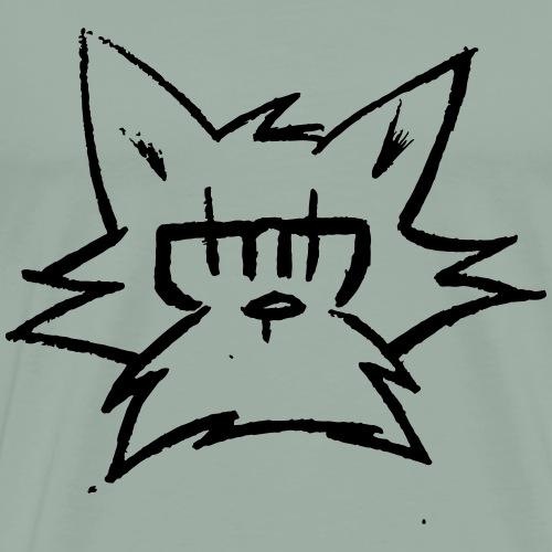 Face Of The Moon - Men's Premium T-Shirt