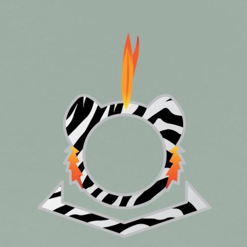 White Tiger Logo - Men's Premium T-Shirt