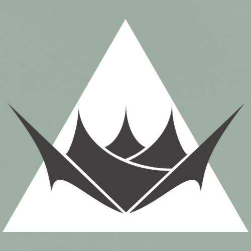 Logo in White Triangle - Men's Premium T-Shirt