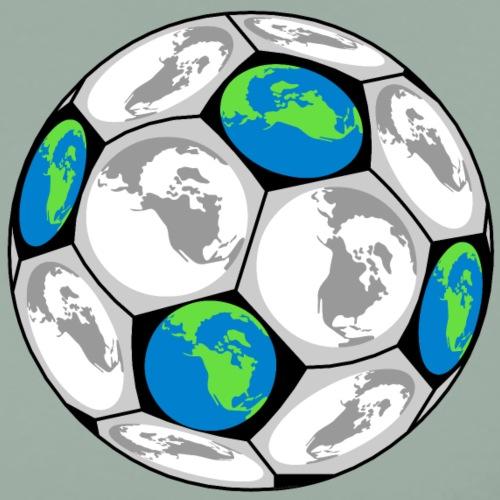 World Soccer Ball - Men's Premium T-Shirt