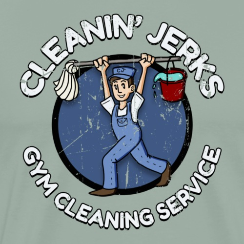 Cleanin' Jerks Gym Cleaning Service - Men's Premium T-Shirt