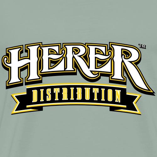 Herer Distribution 3 Color - Men's Premium T-Shirt
