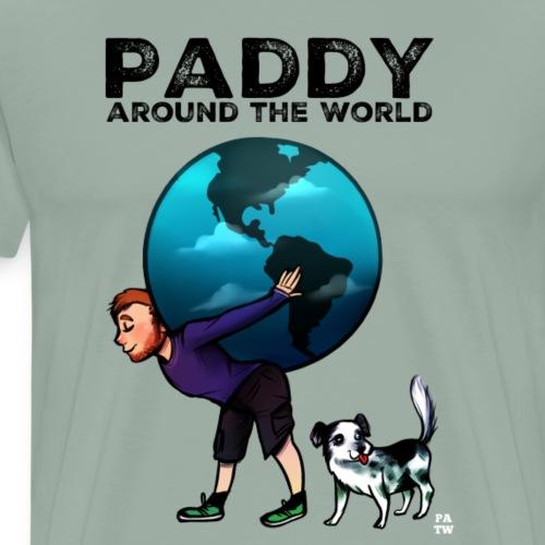 around the world - Men's Premium T-Shirt