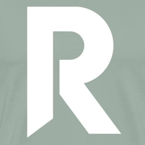 Reclaimer R White - Men's Premium T-Shirt