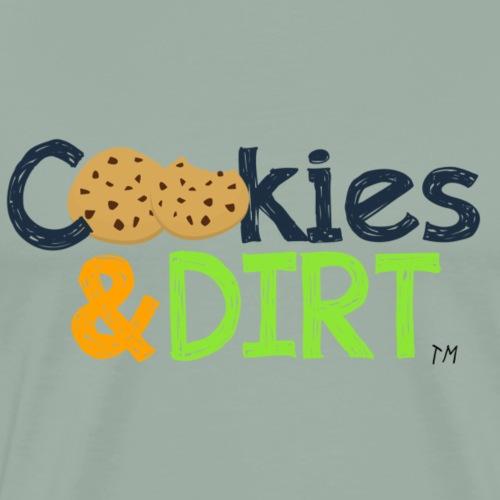 Basic Cookies and Dirt TM Logo - Men's Premium T-Shirt