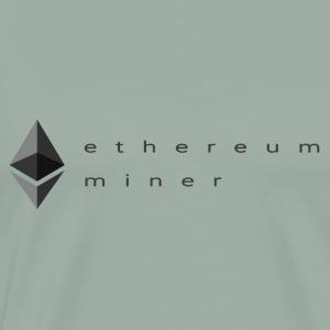 Ethereum Miner - Men's Premium T-Shirt