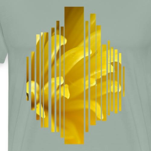 Yellow flower - Men's Premium T-Shirt