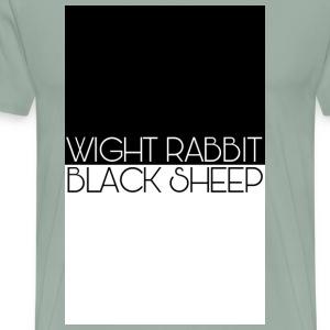 Wight Rabbit/Black Sheep - Men's Premium T-Shirt