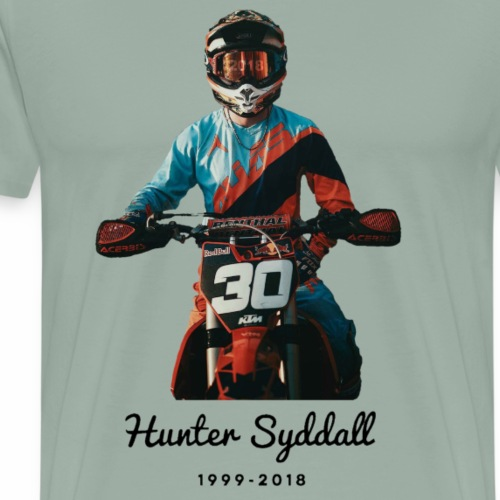 Hunter Syddall - Men's Premium T-Shirt