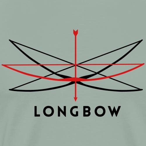 Longbow Archery (Archery by BOWTIQUE) - Men's Premium T-Shirt