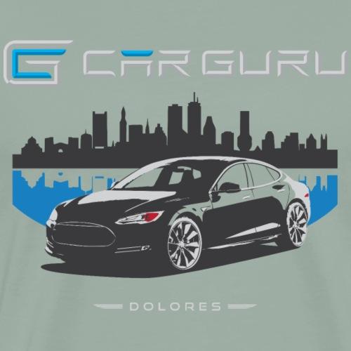 Car Guru - Skyline - Men's Premium T-Shirt