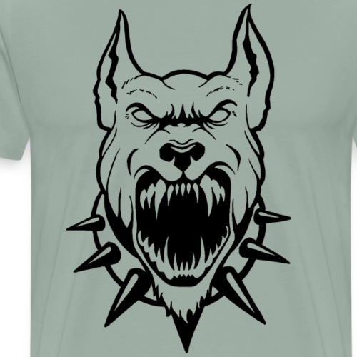Pitbull Design - Men's Premium T-Shirt