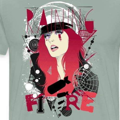 Raining fire - Men's Premium T-Shirt