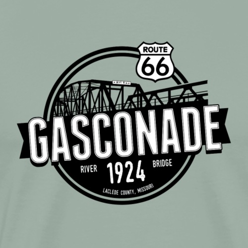 Original Gasconade - No Outline - Men's Premium T-Shirt