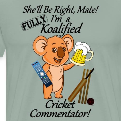 Cricket Commentator B - Men's Premium T-Shirt