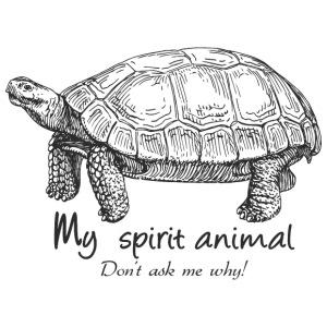tortoise Spirit Animal - Men's Premium T-Shirt