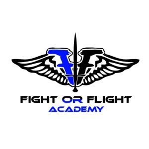 Fight or Flight Academy Logo - Men's Premium T-Shirt
