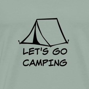 Let's Go Camping - Men's Premium T-Shirt