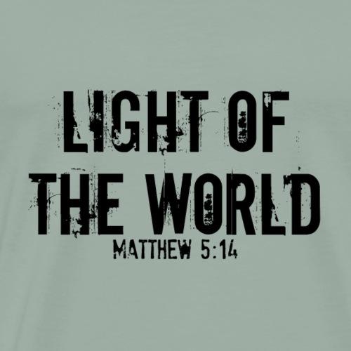 light of the world - Men's Premium T-Shirt