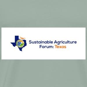 Sustainable Agriculture Forum Texas Logo - Men's Premium T-Shirt
