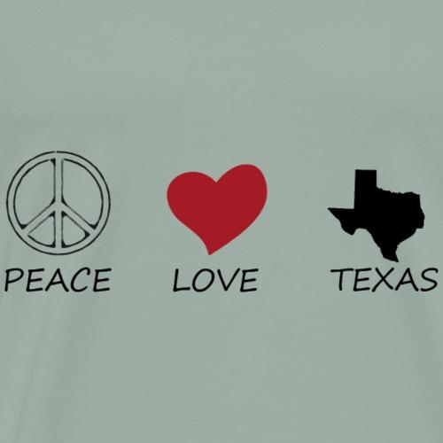 peace love48 - Men's Premium T-Shirt