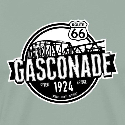 Original Gasconade - Outline - Men's Premium T-Shirt