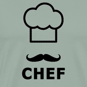 Chef Logo - Men's Premium T-Shirt