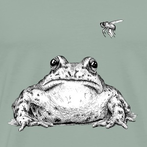 Frog with Fly by Imoya Design - Men's Premium T-Shirt