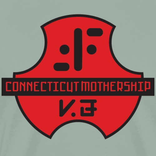 CTV logo6 outlines - Men's Premium T-Shirt